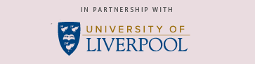 in partnership with university of liverpool